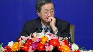 Zhou Xiaochuan, governor of the People's Bank of China,