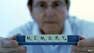 Memory scrabble