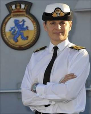 Lt Cdr Sarah West