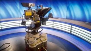 camera in studio