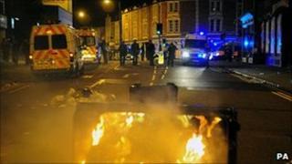 Violence in Stokes Croft, Bristol