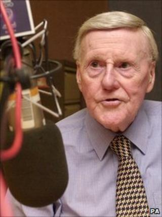 Sir Jimmy Young in 2002