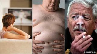 Three lifestyle factors - television