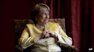 Michelle Bachelet in 2008