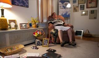 Artie Van Why in his Lancaster home
