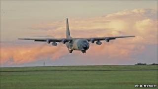 Nigerian Air Force Hercules