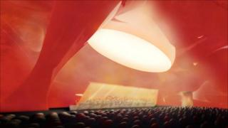An artist's impression of Anish Kapoor's Ark Nova