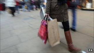 High Street shopper