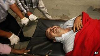 Delhi blast victim 7 September 2011