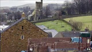 New building in a Yorkshire village