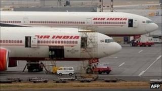 Air India planes (file photo)