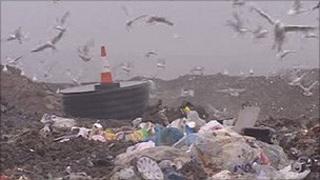 Landfill in Cardiff