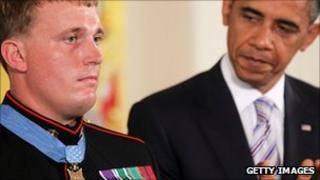 Sgt Dakota Meyer is awarded the Medal of Honor
