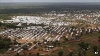 Menik Farm camp