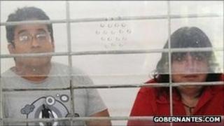 Gilberto Martinez Vera and Maria de Jesus Bravo Pagola. Photo: Gobernantes.com