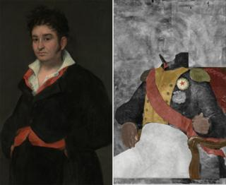 Portrait Of Don Ramon Satue and Portrait Of A French General (courtesy of Rijksmuseum)