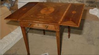 The rare Chippendale table