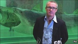 Damien Hirst at the White Cube gallery