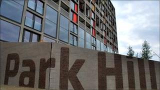 Park Hill north block
