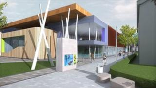 An artist impression of the new facility. Photo: Redcar & Cleveland Borough Council