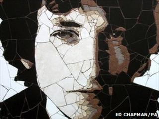 Bob Dylan mosaic