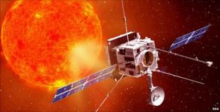 Solar Orbiter - artist's impression