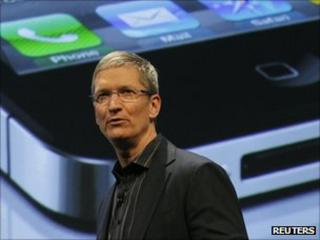 Apple boss Tim Cook