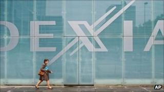 Dexia corporate headquarters in Brussels, file pic