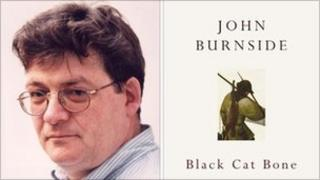 John Burnside and book cover (Photo: Niall McDiarmid)