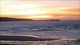 Sunset in Hayle