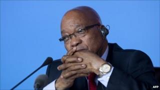 President Jacob Zuma, file AFP