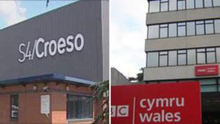 The S4C and BBC Wales headquarters in Wales