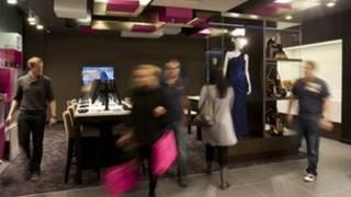 House of Fraser.com store in Aberdeen