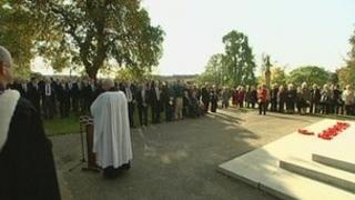 Memorial service in Maidstone