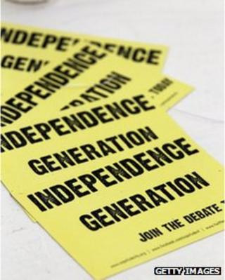 Independence generation poster