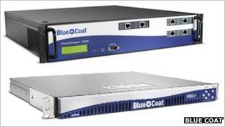 Blue Coat's internet monitoring kit