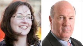 Eilidh Whiteford and Ian Davidson