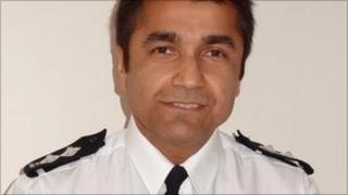 Leicestershire Police Insp Rik Basra