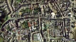 Bideford town centre