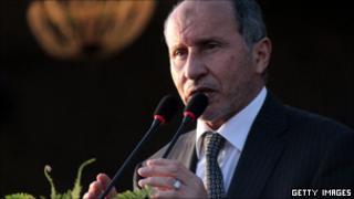 NTC Chairman Mustafa Abd-al-Jalil, 23 Oct 2011