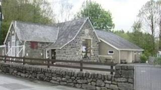 Ysgol y Parc near Bala