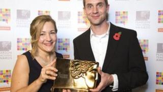 Nicki Bovey, at the Pearson Teaching Awards 2011 ceremony