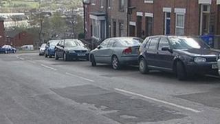 Road in Sheffield