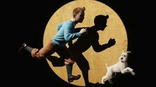 Promotional image for Tintin: The Secret of the Unicorn