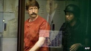 Viktor Bout in custody