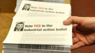Unison ballot papers