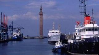 Grimsby's Dock Tower