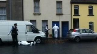 Police search at Francis Street in Londonderry