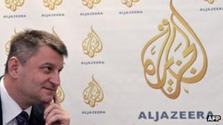 Tarik Djodjic, managing director of al-Jazeera Balkans