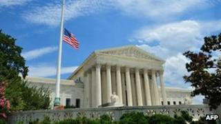 file photo of the US Supreme Court